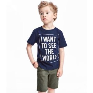 T-shirt in soft, printed cotton jersey 4-6yrs